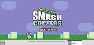 Smash Copters : A parody of Swing Copters