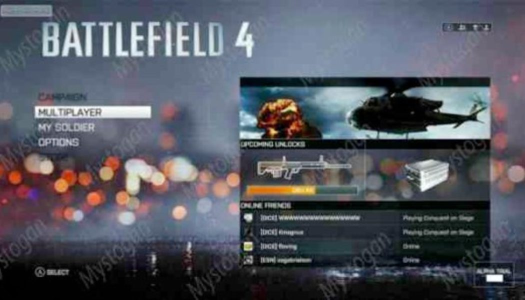 Battlefield 4 Screenshots Leaked