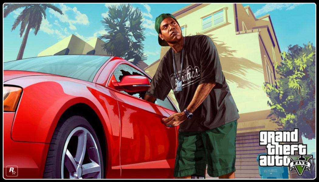 GTA 5 Poster 1