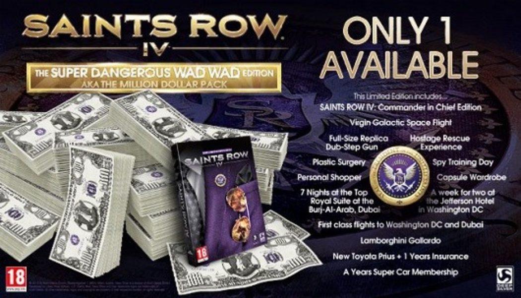Saints Row 4: Special Edition for 1 Million Dollars