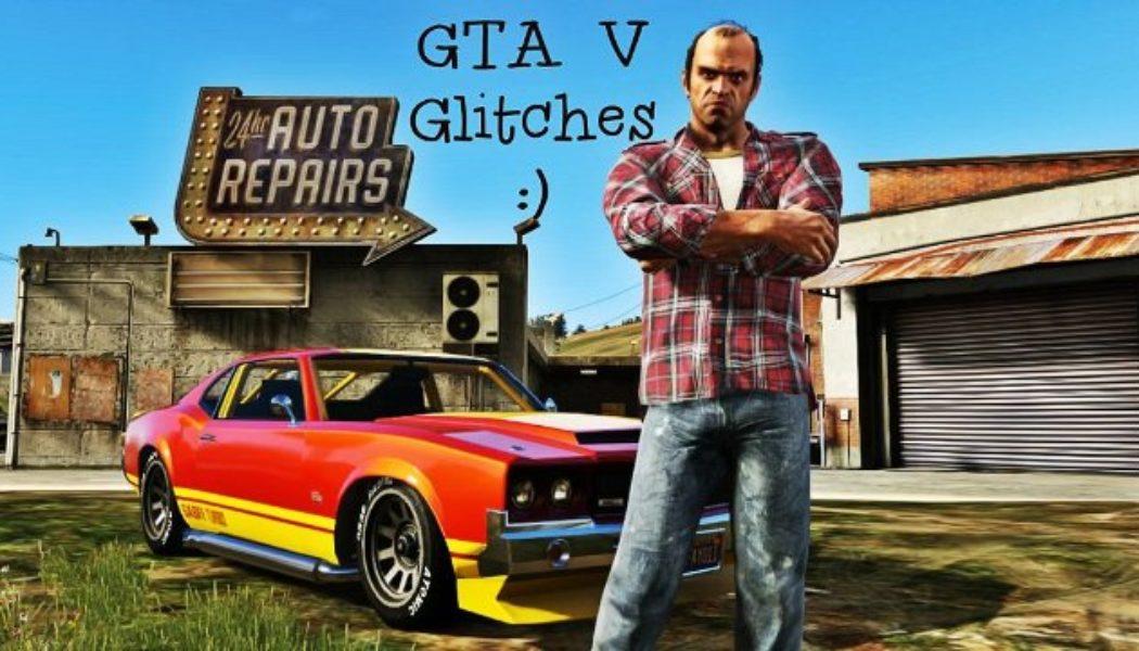 5 Super Funny Grand Theft Auto V Glitches