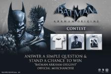 Batman Arkham Origins Contest Day 2