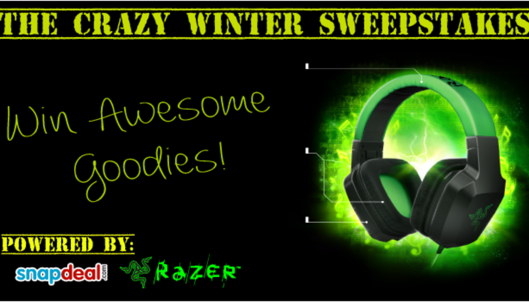 The Crazy Winter Sweepstakes