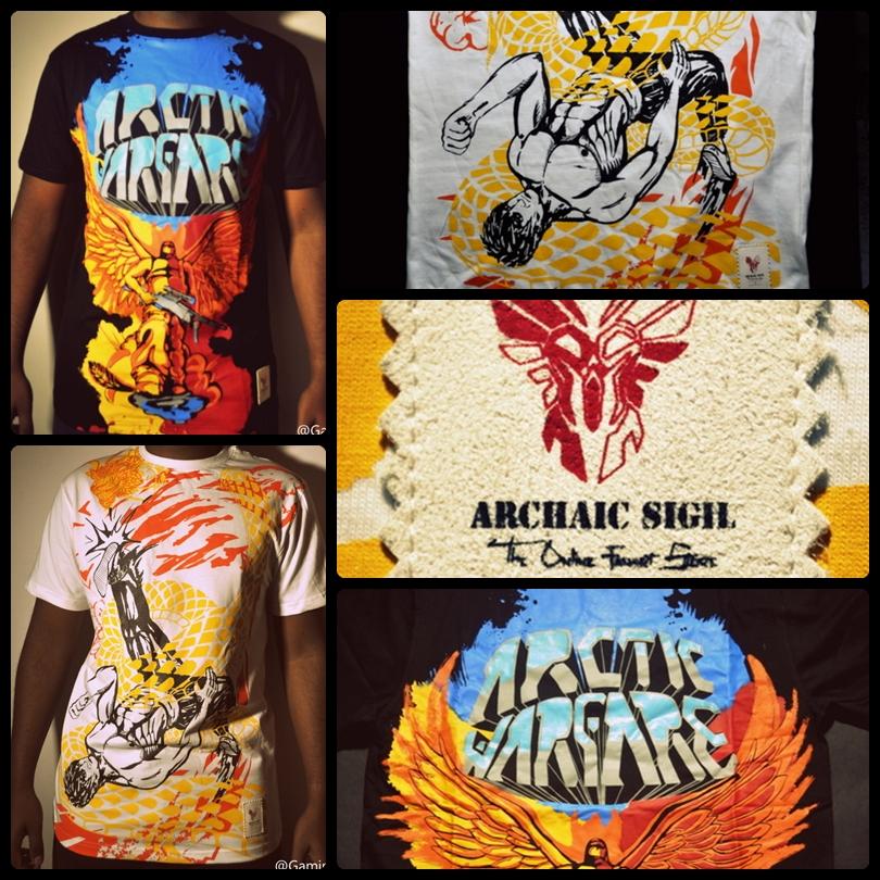 Archaic Sigil Gaming T-shirts