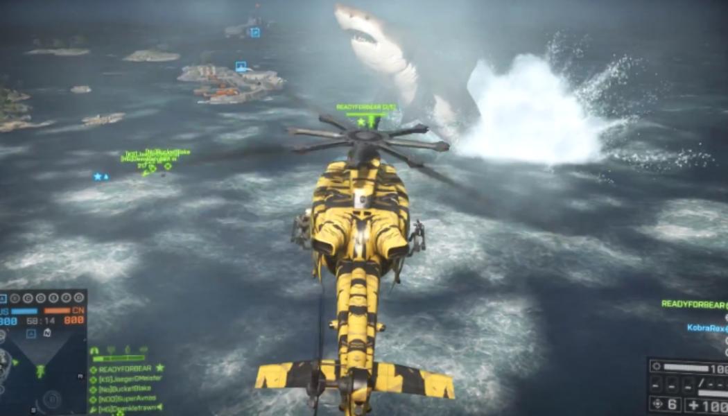 Massive Megalodon shark Easter Egg found on Battlefield 4