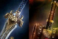 The first two posters for Universal's forthcoming movie adaptation of Warcraft.