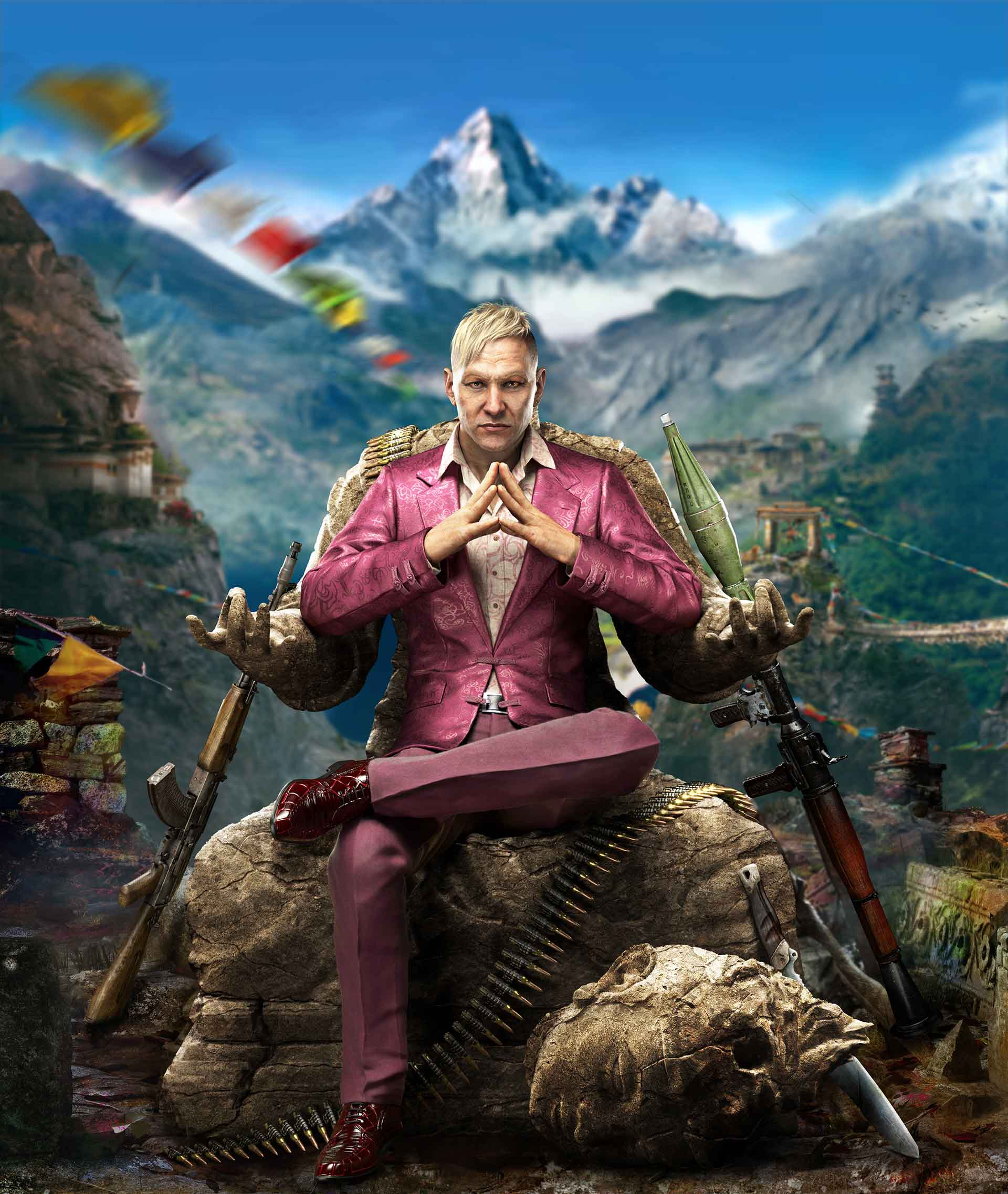 Far Cry 4 Schneeleoparden