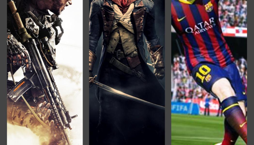 FIFA'15 Tops UK Charts Again