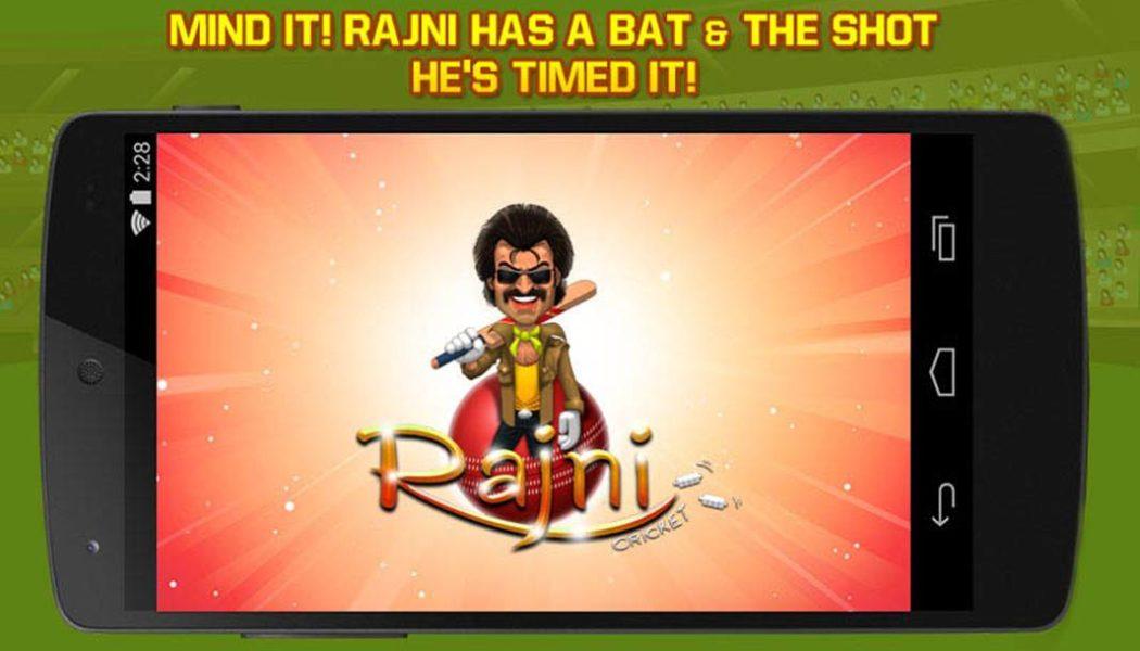 Rajni Cricket Game Released