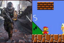 Which game is more immersive?
