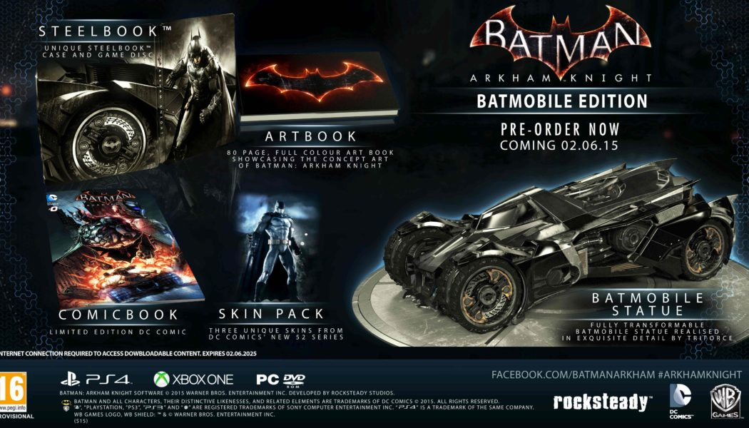 Batman Arkham Knight Special Editions Available In India