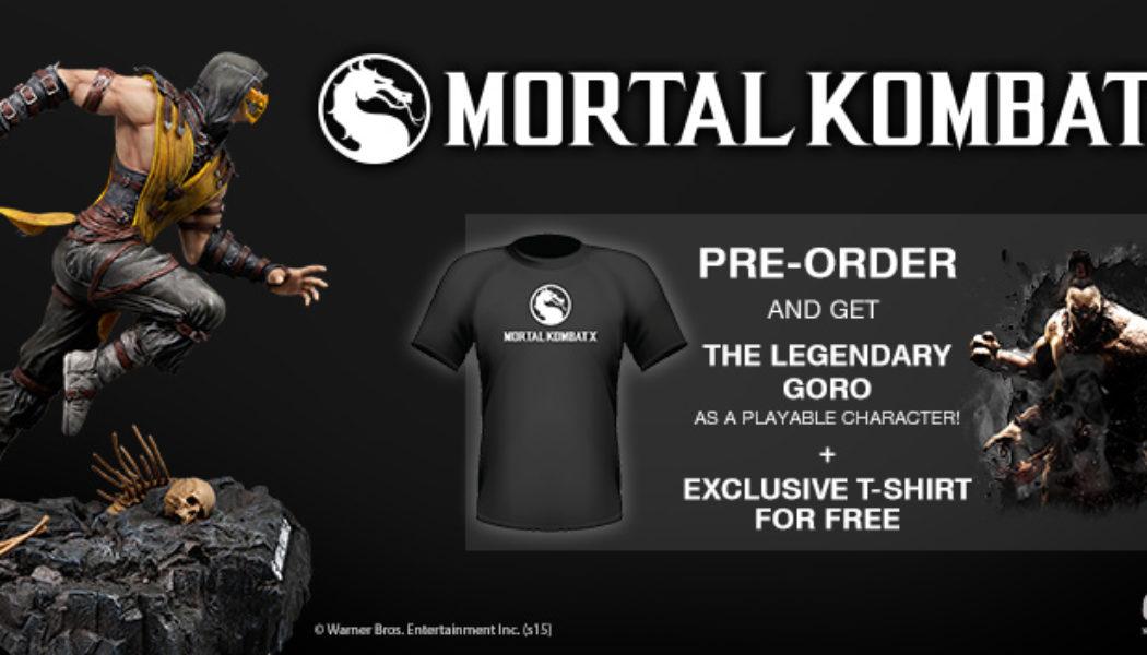 Games The Shop Offers Exclusive Mortal Kombat X Bonus