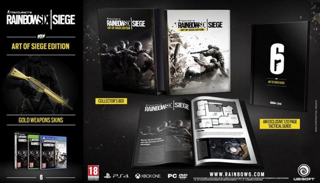 Tom Clancy's Rainbow Six: Siege – Art of Siege Edition