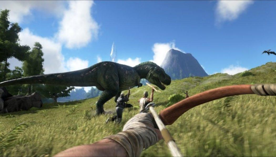 Ride a Dinosaur in Ark: Survival Evolved