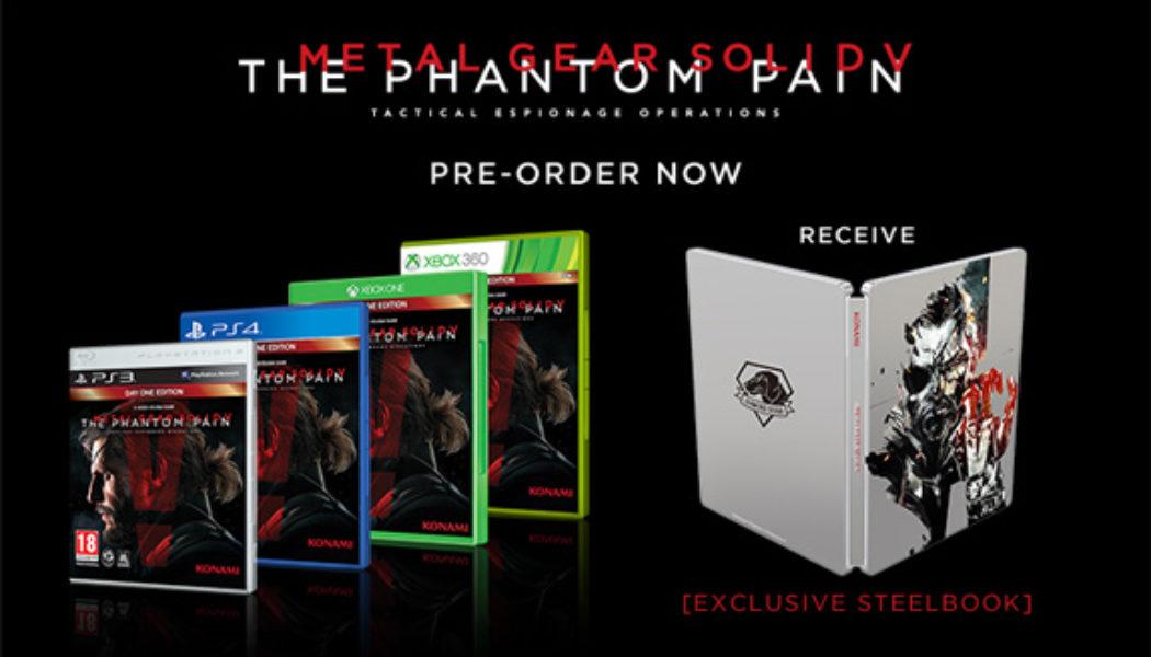 Metal Gear Solid V: The Phantom Pain Pre-Order Bonus