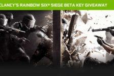 Tom Clancy's Rainbow Six Siege Beta Key Giveaway