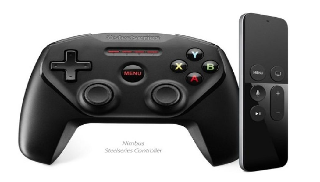 First Ever Third Party Gaming Controller For New Apple TV Announced
