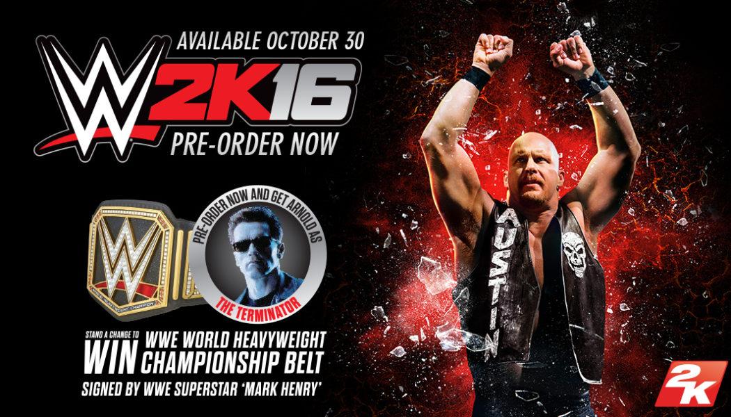 e-xpress ANNOUNCES PRE-ORDER BONUS FOR WWE ® 2K16