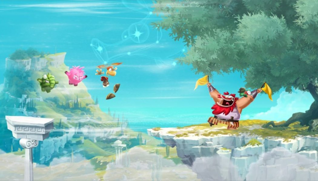 Rayman Adventures Now Available On Tablets And Smartphones