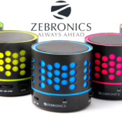 Zebronics Launches Its Peek-A-Boo 'DOT Bluetooth Speakers' Only For Rs. 777/-