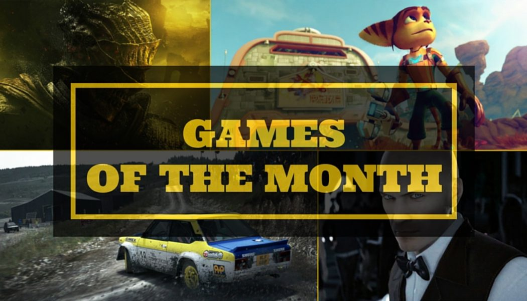 Games Of The Month: April 2016