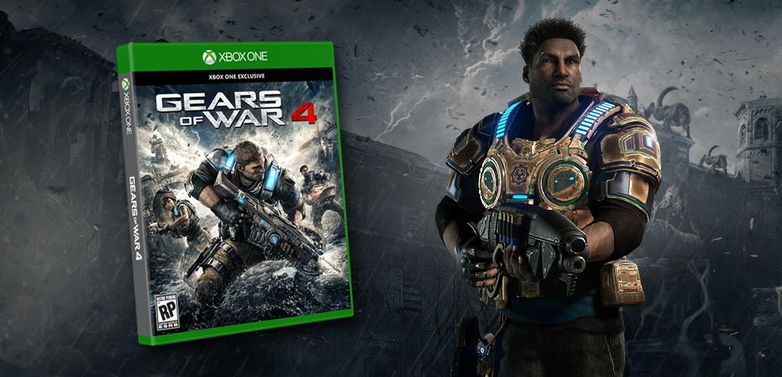 GEARS OF WAR 4: STANDARD EDITION