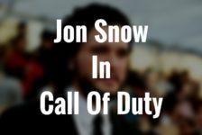 Jon Snow Is The Bad Guy In Call Of Duty: Infinite Warfare