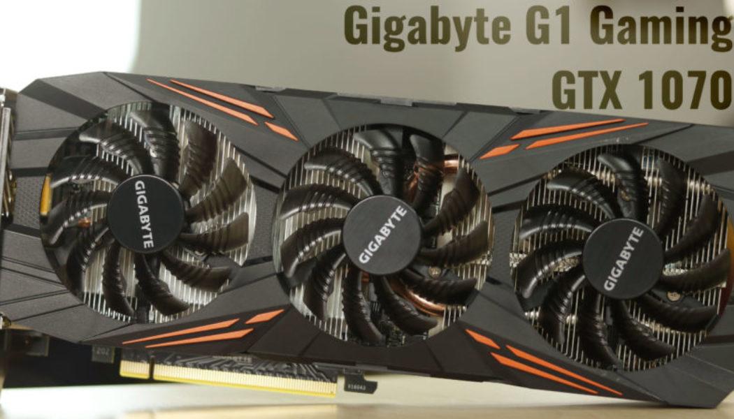 Review: Gigabyte G1 Gaming GTX 1070 GPU