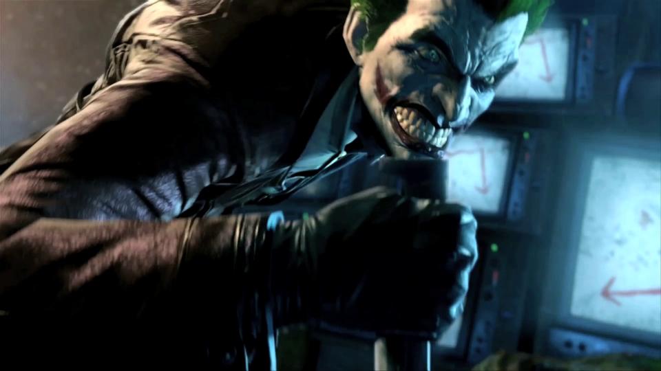 The Joker not joking around