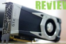 Review: NVIDIA GTX 1060 Founder's Edition