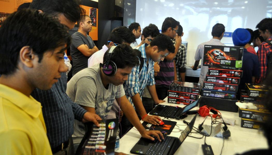 Gigabyte Store Opening Nehru Place