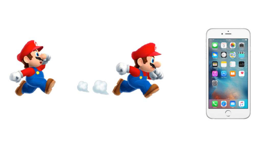Super Mario Comes Running To iOS