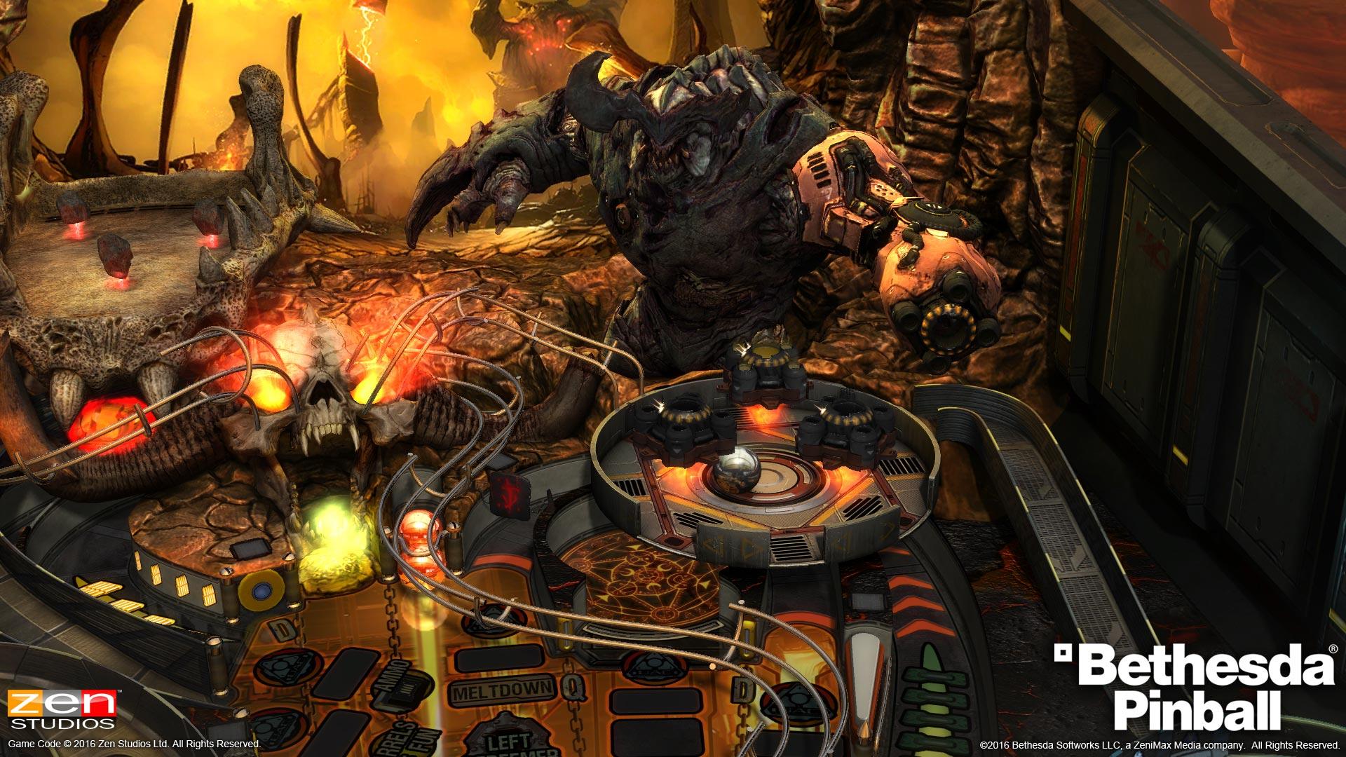 Bethesda Pinball Games Announced by Zen Studios - Gaming Central