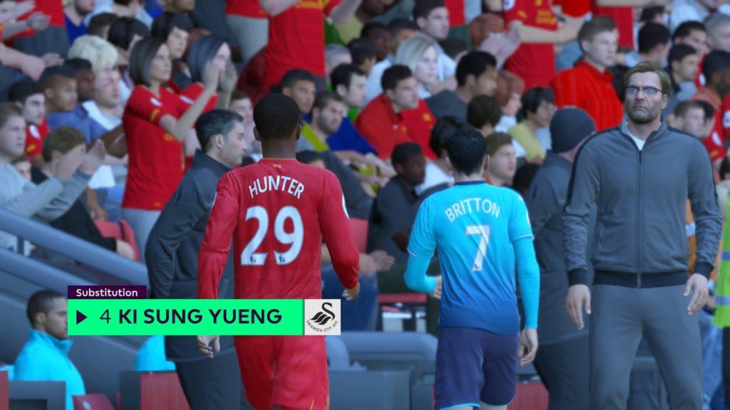 FIFA 17 The Journey 0-0 LIV V SWA, 2nd Half