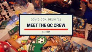 Gamers Meet at Comic-Con Delhi
