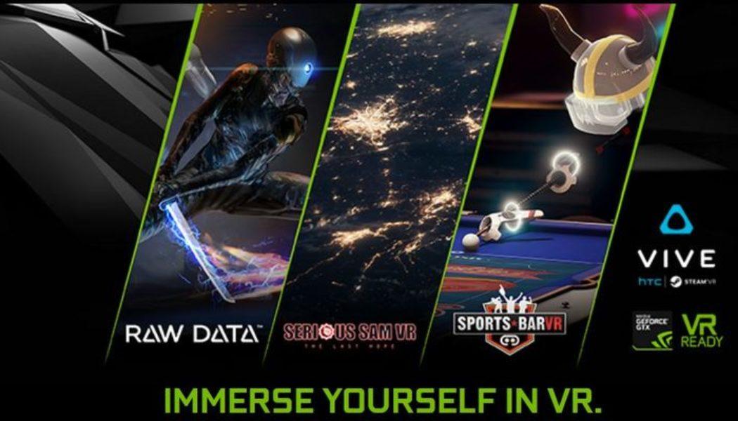 NVIDIA GeForce GTX, HTC VIVE Bundle Deal Announced