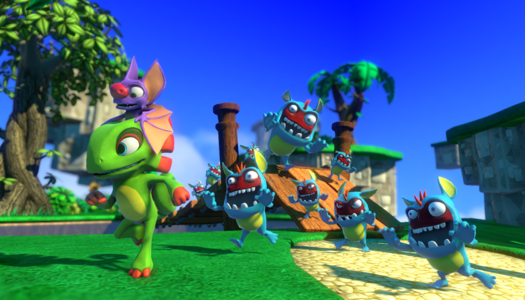 Yookah-Laylee Unveils Local Co-op and Multiplayer In New Trailer
