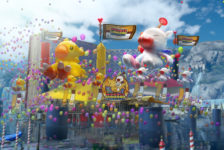 Check out the Moogle Chocobo Carnival in New Final Fantasy XV Trailer
