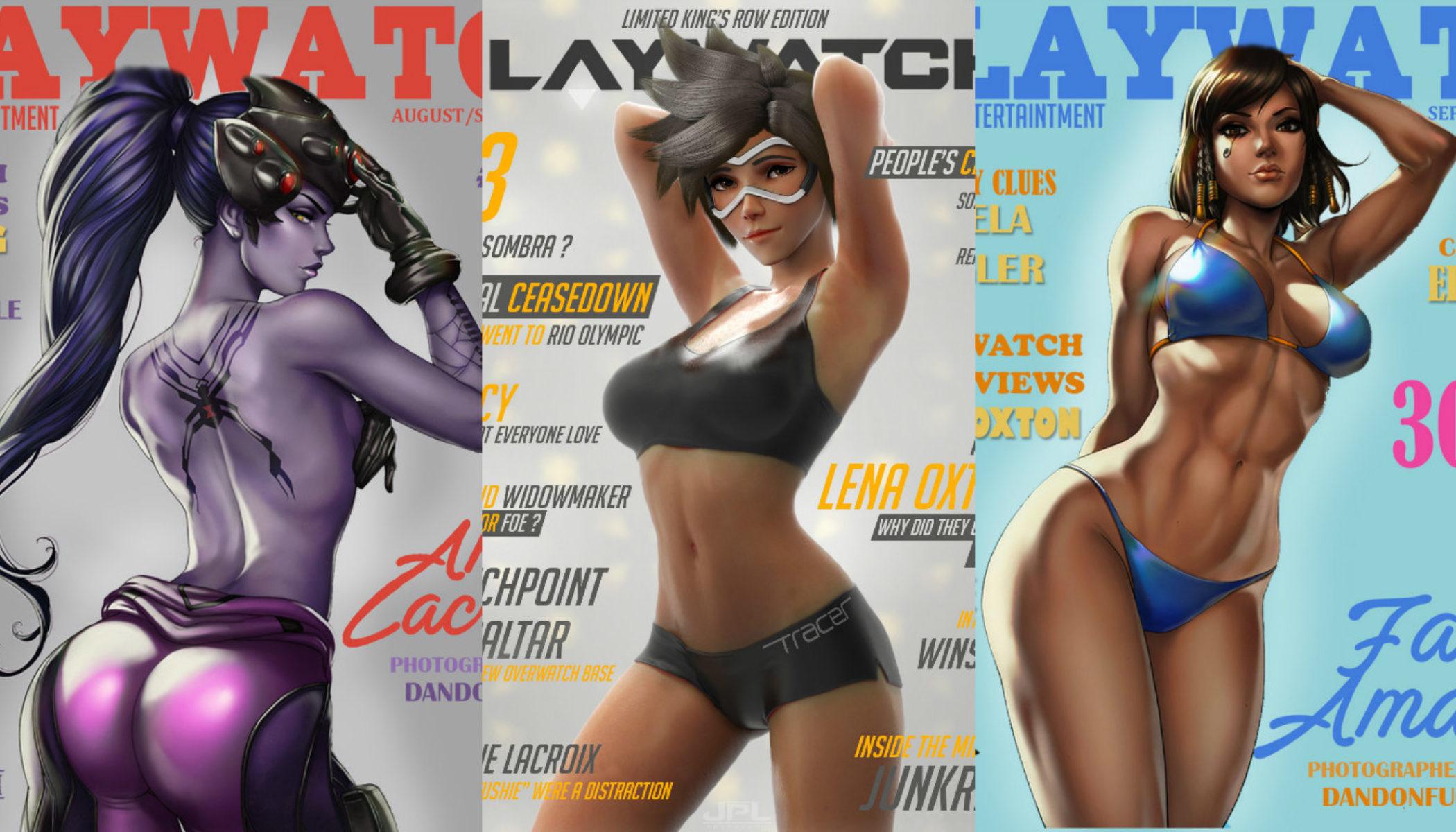 Blizzard Shut Down My Favorite Overwatch Playboy Parody