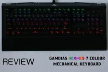 Review: Gamdias Hermes 7 Colour Mechanical Gaming Keyboard