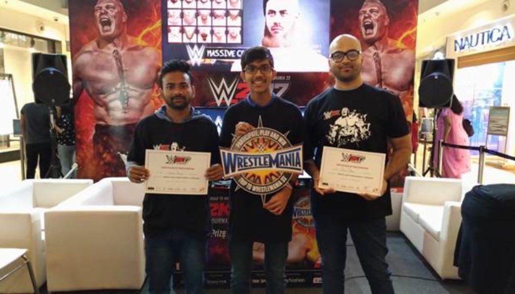 Mumbai Gamer Wins WWE 2K17 Road To WrestleMania 33