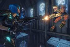 Quake Champions Nyx Gameplay