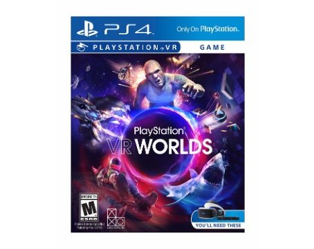 Buy PlayStation VR Worlds PS4 VR India, PlayStation VR Worlds Price India, PlayStation VR Worlds PS4 VR