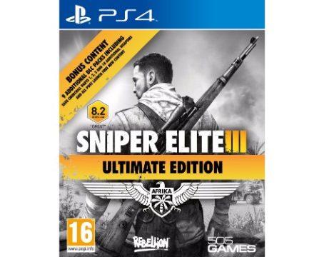 Buy Sniper Elite III Ultimate Edition PS4 India, Sniper Elite III Ultimate Edition Price India, Sniper Elite III Ultimate Edition PS4