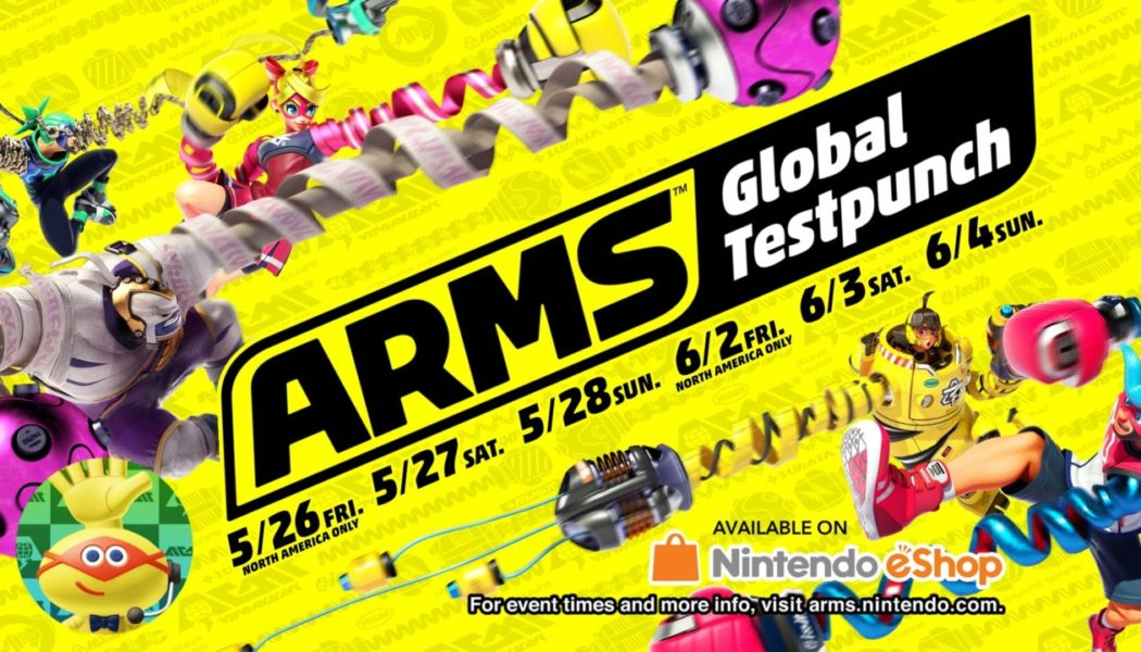 Nintendo Announces 3 New Characters And New Details For ARMS