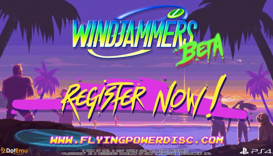 Windjammers Closed Beta Dates Announced For The PS4