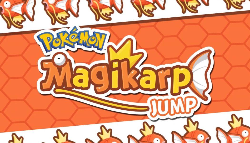 Pokemon: Magikarp Jump Out For Smartphones