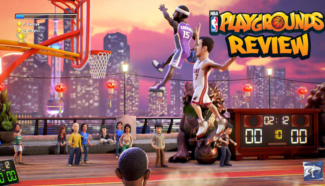 Slamma Jamma: NBA Playgrounds Review