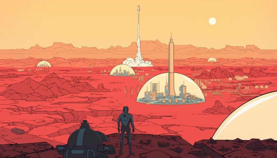 Surviving Mars for PS4, Xbox One and PC Announced by Paradox, Coming in 2018