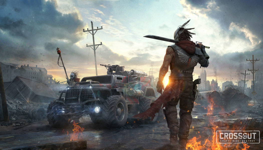 Post Apocalyptic Vehicular Combat Game, CROSSOUT, Now Free On PC, PS4 & Xbox One